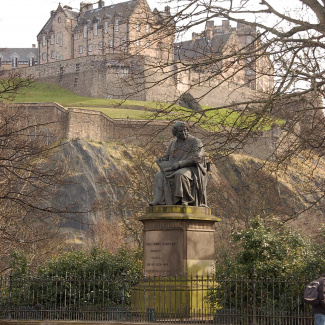 James Young Simpson and Edinburgh Castle