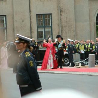 Dronning Margrethe og Prinsgemalen