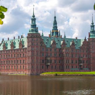 Danish castle in Hillerød