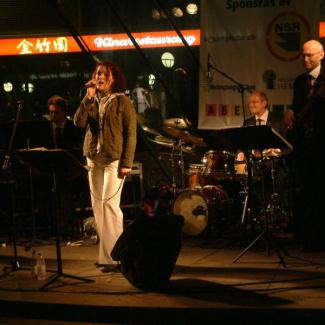 Billy Heil med Cilla Rosell