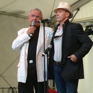Pär Sörman og Olle Larsson