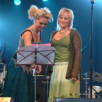 Maja Gullstrand og Helene Rask