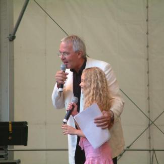 Nadja Lindh og Olle Larsson