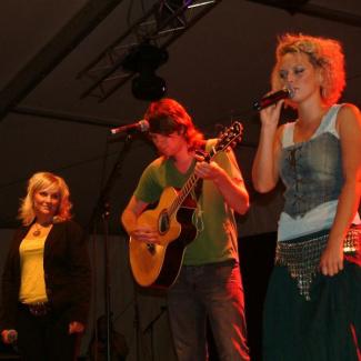 Maja Gullstrand, Johan Östberg og Helene Rask