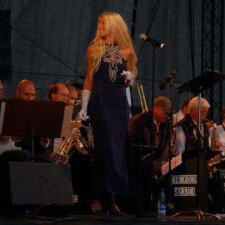 Helsingborgs Storband och Nilla Nielsen