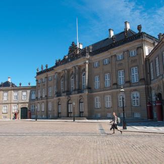 Amalienborg Slot - palace