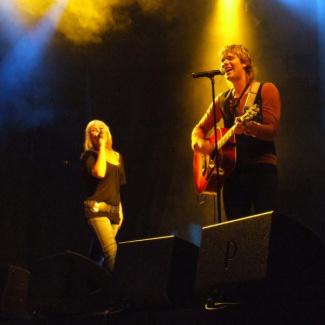 Helene Rask og Johan Östberg