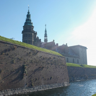 Testshot of Kronborg with Fujifilm Finepix X100
