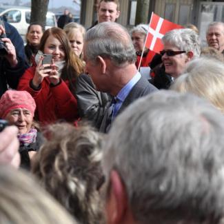 Prince Charles in Elsinore