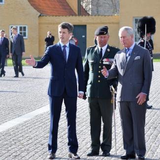 Prince Charles og Kronprins Frederik