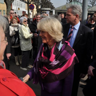 The duchess of Cornwall in Elsinore