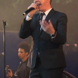 Rick Astley in Tivoli Friheden Århus Denmark