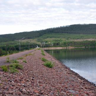 Österdalälven ved Åsens Kraftstation